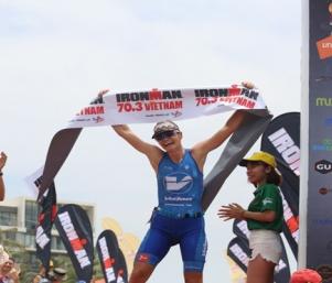 Ironman 70.3 Vietnam 2017 đã tìm ra những nhà tân vô địch